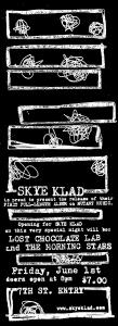 skye klad poster dan black